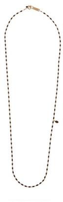 Isabel Marant Beaded Gold-tone Necklace - Black