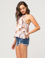 Vanilla Star Premium Step Hem Womens High Waisted Denim Shorts