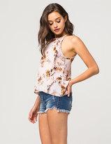 Vanilla Star Premium Step Hem Womens High Waisted Denim Shorts