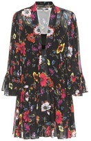 McQ by Alexander McQueen Printed floral-mini dress