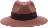Maison Michel Henrietta Hat Antic Pink