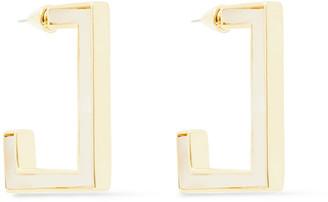 Noir Gold-tone Resin Earrings