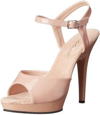 Fabulicious Women's LIP109/ND/M Platform Dress Sandal