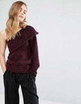 Gestuz One Shoulder Sweater