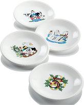 Fiesta Twelve Days of Christmas Salad/Dessert Plates, Set of 4, Second Series n a Series of Three