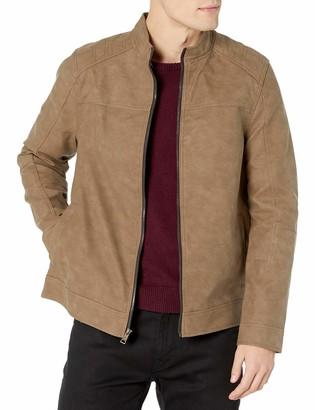 Urban Republic Mens PU Suede Jacket