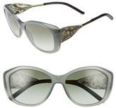 Burberry Women's 'Gabardine Lace' 57Mm Sunglasses - Opal Beige