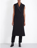 3.1 Phillip Lim Sleeveless wool coat