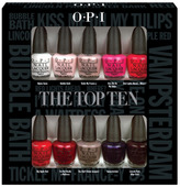OPI The Top Ten Mini Collection Pack