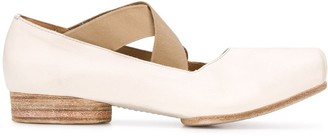 UMA WANG Square Toe Ballerina Shoes