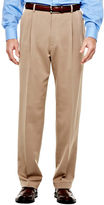 Haggar Classic-Fit Pleated Dress Pants