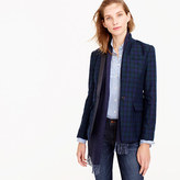 J.Crew Regent blazer in Black Watch with satin lapel