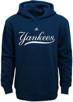 Majestic Kids' New York Yankees Wordmark Fleece Hoodie