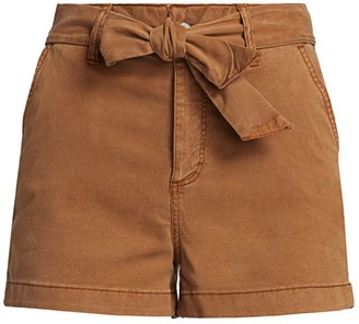 Paige Anessa Tie-Waist Shorts