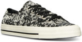 Converse Gemma Ox Winter Knit Casual Sneakers from Finish Line