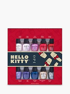 OPI x Hello Kitty Mini Nail Lacquer Gift Set, x 10