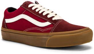 Vans OG Old Skool LX in Madder Brown & Jester Red | FWRD