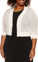 Ronni Nicole 3/4 Sleeve Shrug-Plus