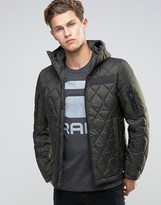 G-star Hooded Quilted Jacket