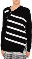 Proenza Schouler Stripe Asymmetric Knit
