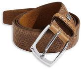 Bugatti Embossed Leather Belt