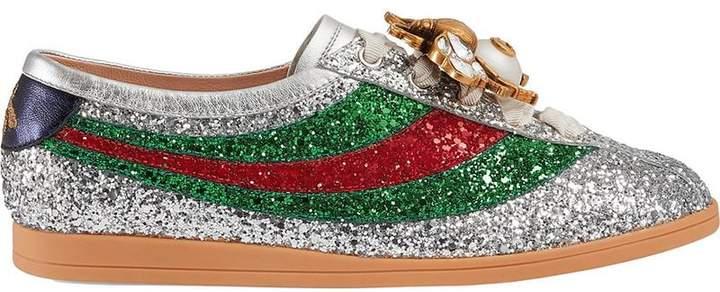 d1b492ea02e Gucci Glitters Sneakers - ShopStyle