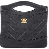 Chanel Quilted Convertible Handle Bag