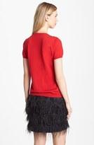 Vince Camuto Rosette Front Sweater (Regular & Petite)