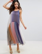 Little White Lies Serena Multicoloured Pleated Dress
