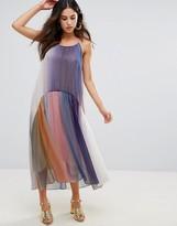 Little White Lies Serena Multicoloured Pleated Dress
