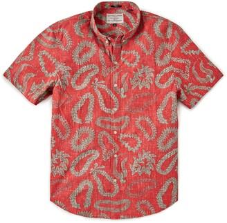 Reyn Spooner Men's Lei'd Short Sleeve Button-Down Shirt