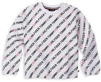 Tommy Hilfiger Gir's Logo Sweatshirt