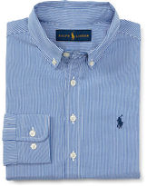 Ralph Lauren 8-20 Custom-Fit Cotton-Blend Shirt