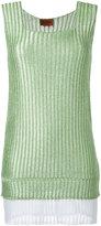 Missoni knitted mini dress - women - Polyester/Cupro - 40