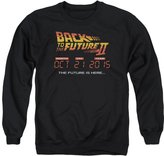 Back To The Future II Sci-Fi Movie Future Is Here 10.21.15 Adult Crew Sweatshirt