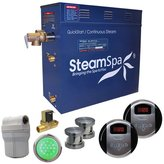 Steam Spa Royal 12 kW QuickStart Steam Bath Generator Package with Built-in Auto Drain