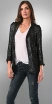 Arietta Soft Sequin Blazer