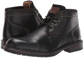 Florsheim Vandall Cap Toe Lace-Up Boot (Black Leather) Men's Boots