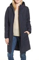 Joules Women's Hooded Fleece Lined Raincoat