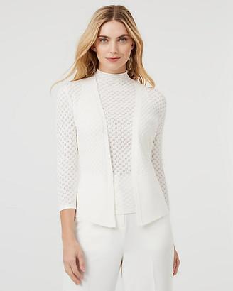 Le Château Knit Open-Front Cardigan