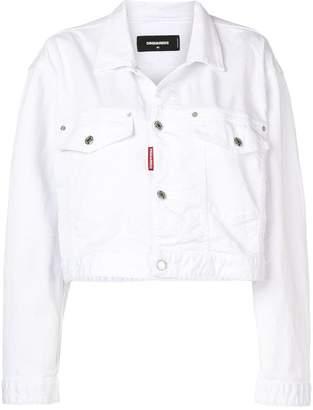 DSQUARED2 cropped denim jacket