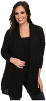 Lucky Brand Textured Cocoon Cardigan