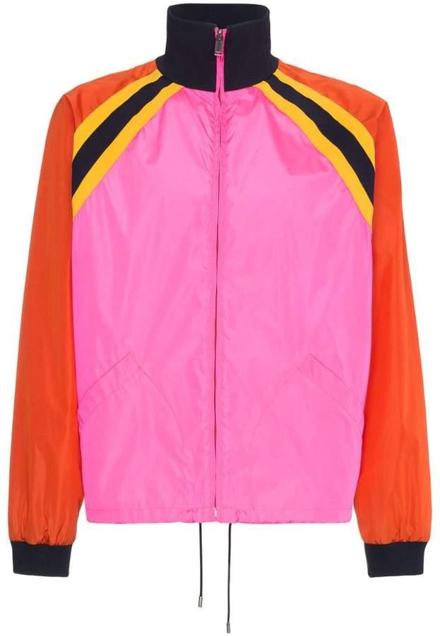 Gucci Logo print shell jacket