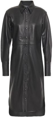 Joseph Leather Shirt Dress