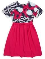 Kenzo Toddler's, Little Girl's & Girl's Jungle Splash-Print Long Dress