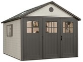 Lifetime Storage Building Shed 11' X 21' - Gray