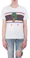 Saint Laurent Men's Graphic Cotton T-Shirt-WHITE