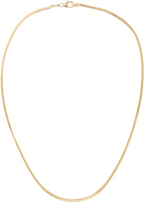 Lana Thin Liquid Gold Choker Necklace