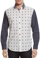 Robert Graham Socal Skull Classic Fit Button-Down Shirt