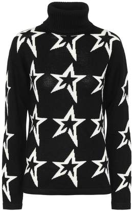 Perfect Moment Stardust roll-neck wool sweater